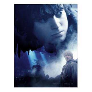 Frodo Gollum and Sam Post Cards