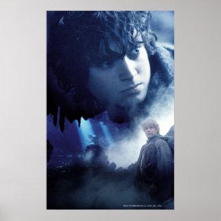Frodo, Gollum and Sam Posters