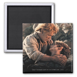 FRODO™ in Samwise's Arms 2 Inch Square Magnet