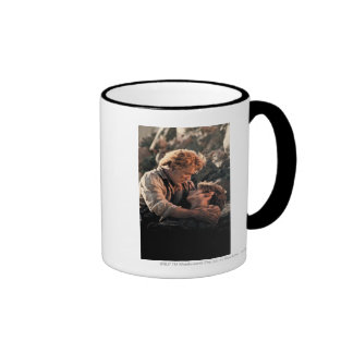 Frodo in Samwise's Arms Coffee Mugs