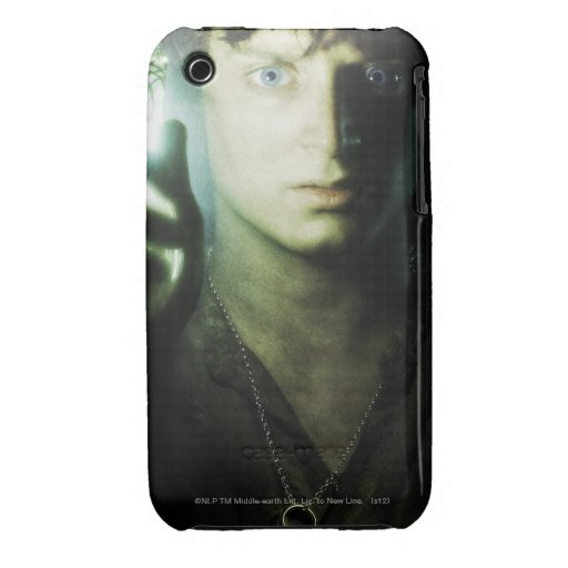 Frodo misterioso iPhone 3 Case-Mate protector