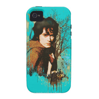 Frodo Mixed Media Vector Collage Vibe iPhone 4 Covers