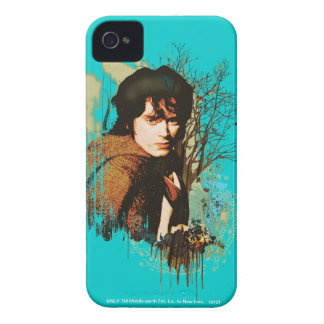 Frodo Mixed Media Vector Collage iPhone 4 Cases