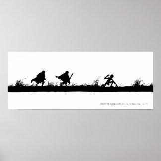 FRODO™, Sam, y Gollum Poster