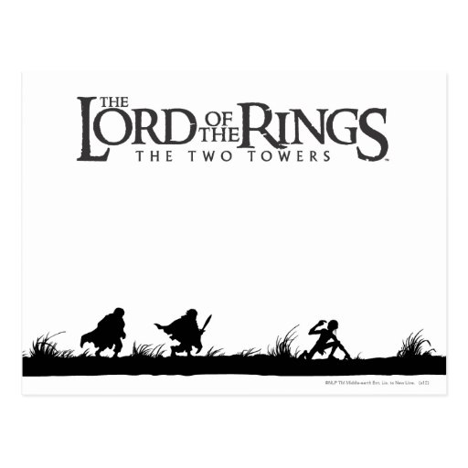 FRODO™, Sam, y Gollum Tarjetas Postales