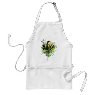 FRODO™ with Hobbits Vector Collage Adult Apron