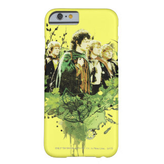 FRODO™ with Hobbits Vector Collage Barely There iPhone 6 Case