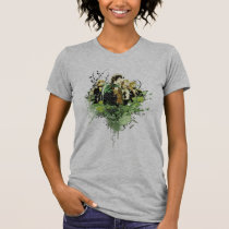FRODO™ with Hobbits Vector Collage Tee Shirt