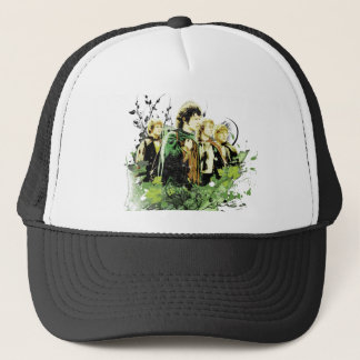 FRODO™ with Hobbits Vector Collage Trucker Hat