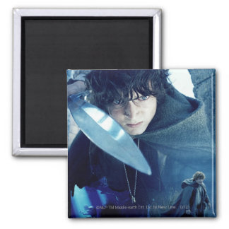 FRODO™ with Sword 2 Inch Square Magnet