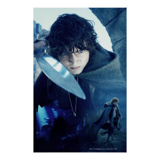 FRODO™ with Sword Poster