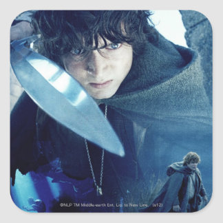 FRODO™ with Sword Square Stickers