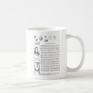 Froebel Song and His Gifts Classic White Coffee Mug
