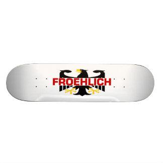 Froehlich Surname Skate Board Decks
