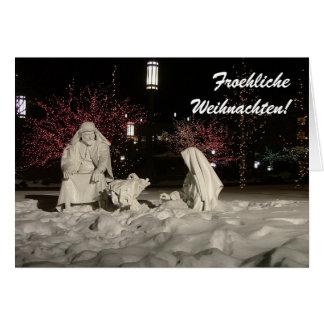 Froehliche Weihnachten Tarjeta