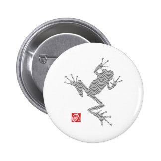 frog15-3 pinback button