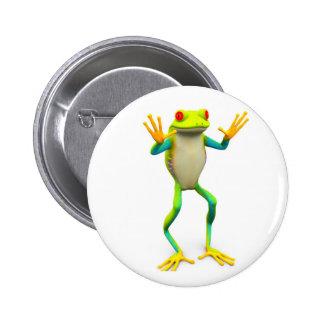 frog1 2 inch round button
