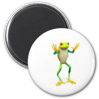 frog1 2 inch round magnet
