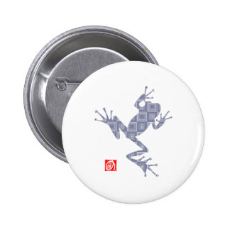 frog5 pinback button