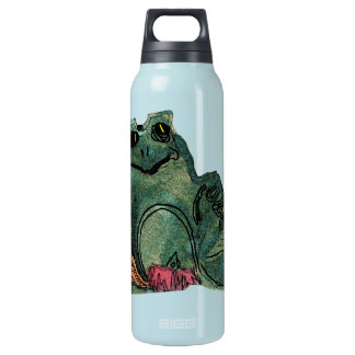 Frog 16 Oz Insulated SIGG Thermos Water Bottle