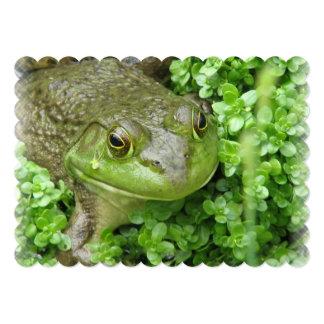 """frog-1.jpg invitación 5"""" x 7"""""""