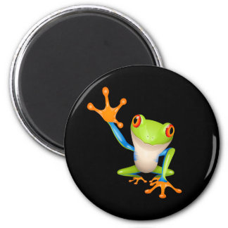 frog 2 inch round magnet