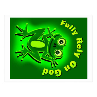 FROG-2 POSTCARD