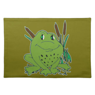 Frog 3 placemat