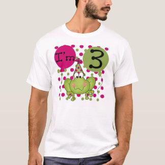 Frog 3rd Birthday (pink) T-Shirt
