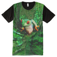 Frog 4 All-Over print t-shirt