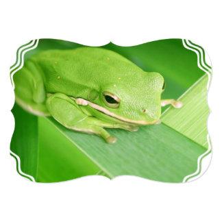 """frog-64.jpg invitación 5"""" x 7"""""""