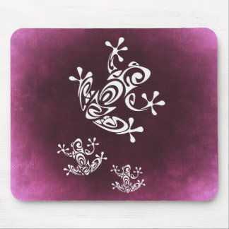 frog-687328 TATTOO FROG ISLAND STYLE GRAPHICS TROP Mouse Pad