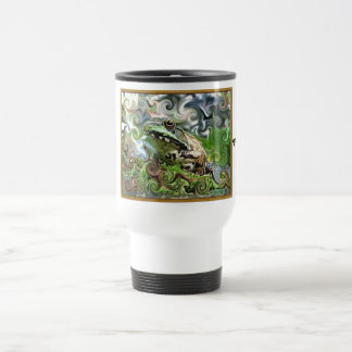 Frog-A-Deli... 15 Oz Stainless Steel Travel Mug