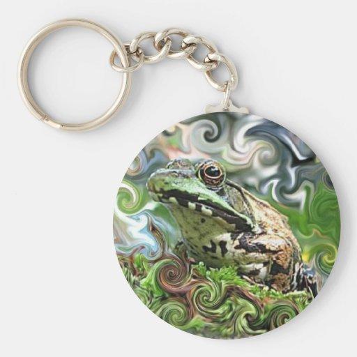 Frog-a-delic Key Chain