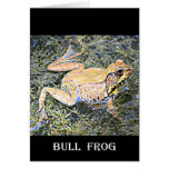 Frog (American Bull Frog) Greeting Cards