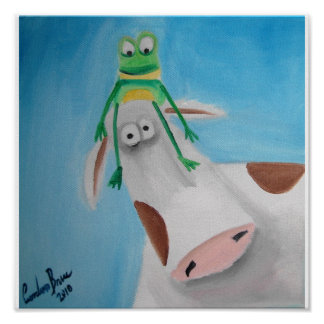FROG AND COW PRINT