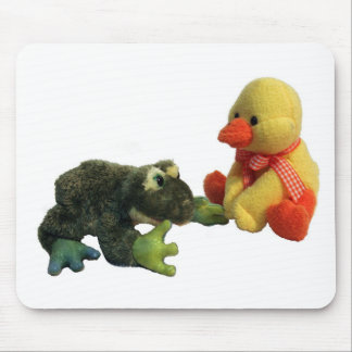 Frog and Duck Mouse Pad