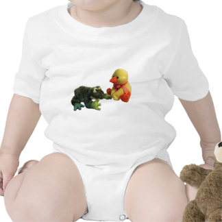 Frog and Duck Bodysuits