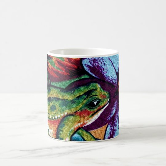 Frog and Flower 2 Coffee Mug