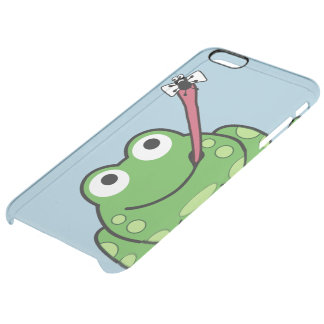 Frog and Fly Clear iPhone 6 Plus Case