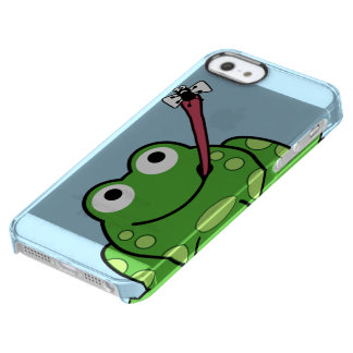 Frog and Fly Clear iPhone SE/5/5s Case