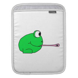 Frog and Fly. iPad Sleeve