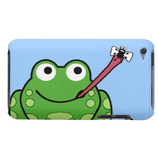 Frog and Fly Pod iPod Touch Case