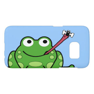 Frog and Fly Samsung Galaxy S7 Case