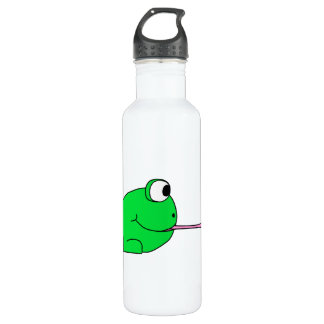 Frog and Fly. Water Bottle