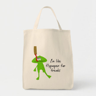 Frog and Flypaper Bag