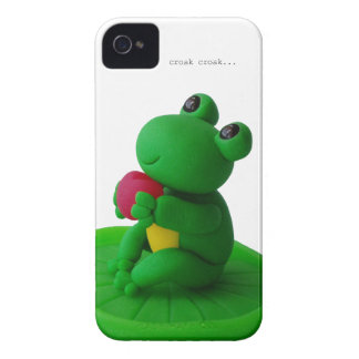 Frog and heart iPhone 4 cover