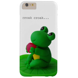 Frog and heart barely there iPhone 6 plus case