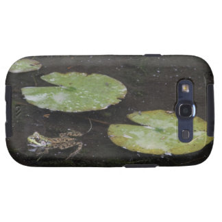 Frog and Lily Pads Samsung Galaxy SIII Cases