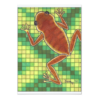 Frog and Pixels Card